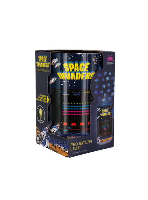 Space Invaders lamp