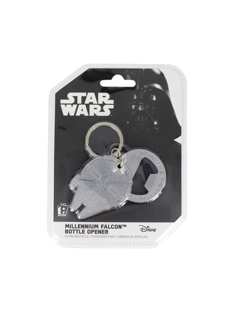 Porta-chaves abre-garrafas Millennium Falcon - Star Wars