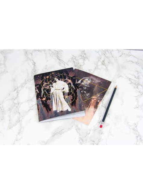 Darth Vader and Princess Leia Notebooks - Star Wars