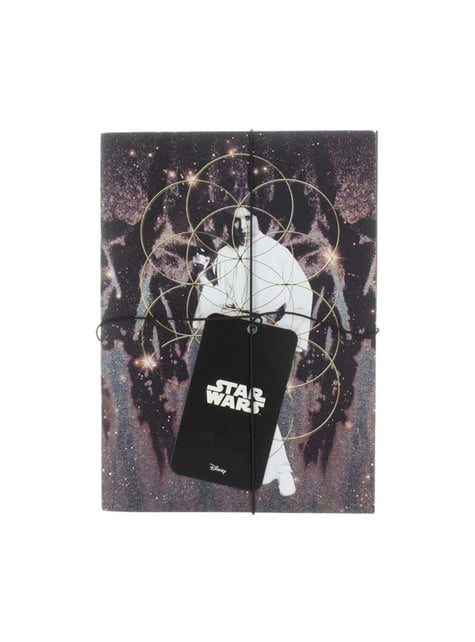Carnets Dark Vador et Princesse Leia- Star Wars