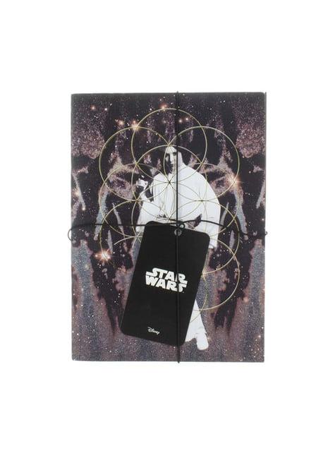 Libretas de Darth Vader y Princesa Leia - Star Wars - oficial
