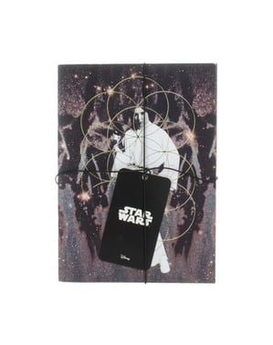 Libretas de Darth Vader y Princesa Leia - Star Wars