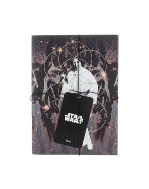 Libretas de Darth Vader y Princesa Leia - Star Wars