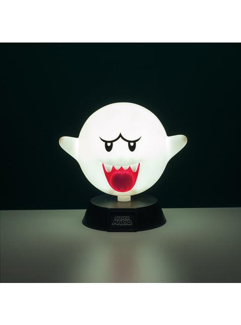 Candeeiro 3D de Super Mario Bros Boo
