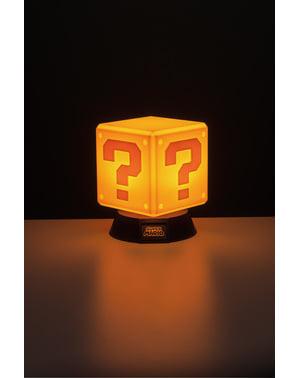Süper Mario Soru Bloğu 3D Işık 10 cm