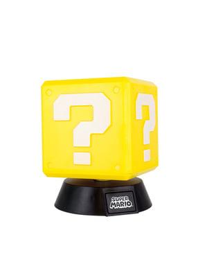 3D Super Mario lamppu 10cm