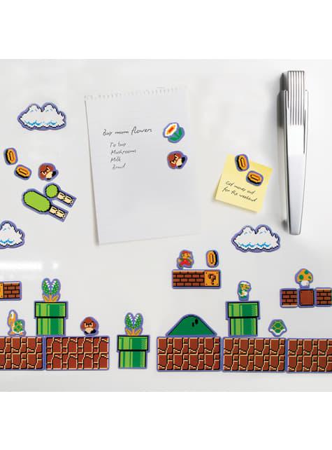 Super Mario Bros fridge magnets