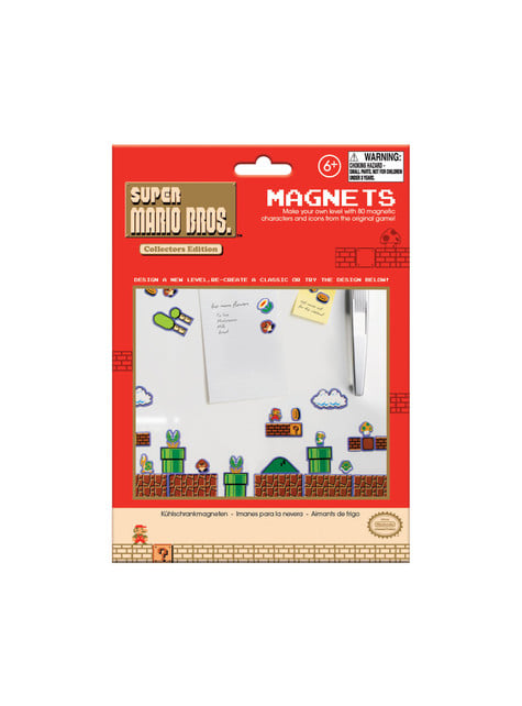 Imanes para nevera Super Mario Bros - barato