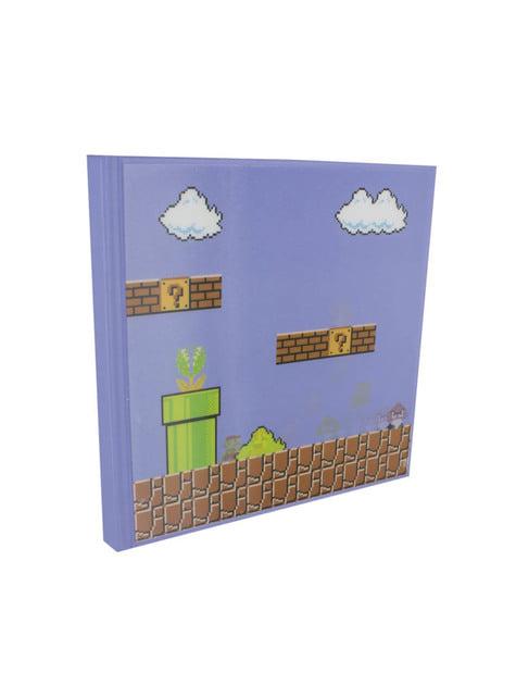 Libreta de Super Mario Bros