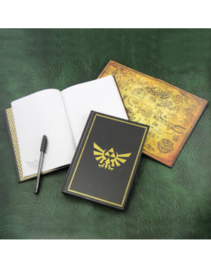 Legend of Zelda Hyrule notebook