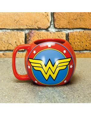 Wonder Woman Schutzschild Tasse