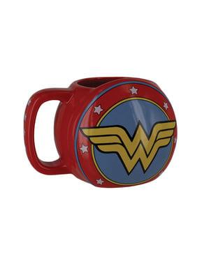Mugg Wonder Woman sköld