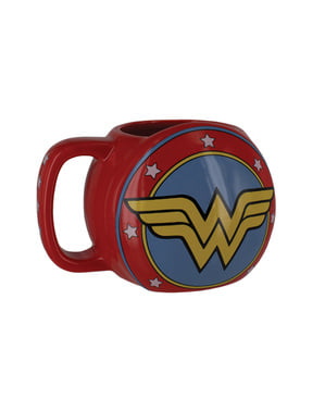 Wonder Woman skjold krus