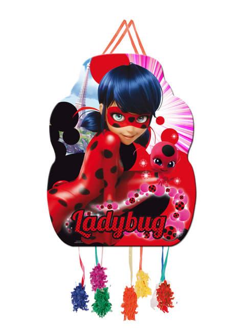 Piñata perfil de Ladybug - Miraculous