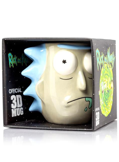 3D Tasse Rick & Morty Rick Sanchez