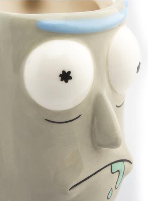Caneca 3D de Rick and Morty Rick Sanchez