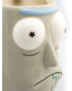 Caneca 3D de Rick and Morty Rick Sanchez