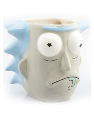 Mugg 3D Rick and Morty Rick Sánchez