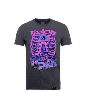 रिक और मोर्टी एनाटॉमी पार्क टी-शर्ट