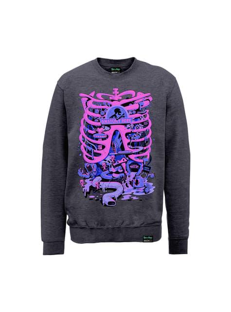 Sweatshirt de Rick and Morty Anatomy Park