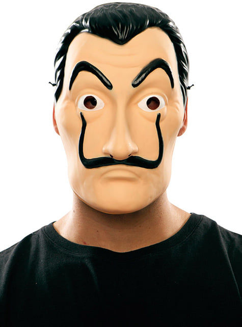 Maska Salvador Dali Dom z Papieru (La Casa de Papel)