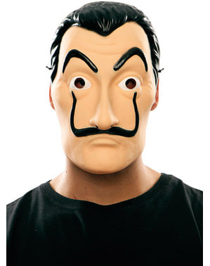 Máscara Dalí - La Casa de Papel