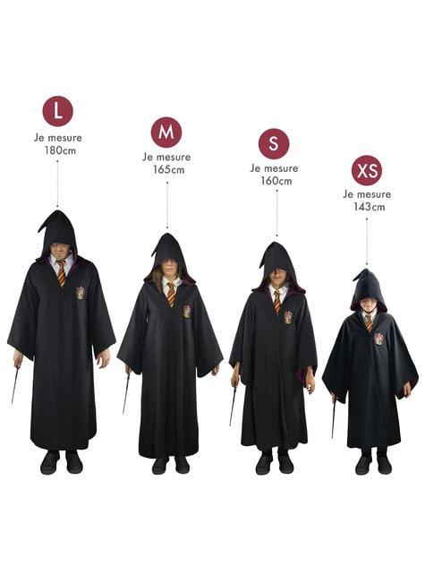 Túnica de Hufflepuff Deluxe para niño - Harry Potter - para verdaderos fans