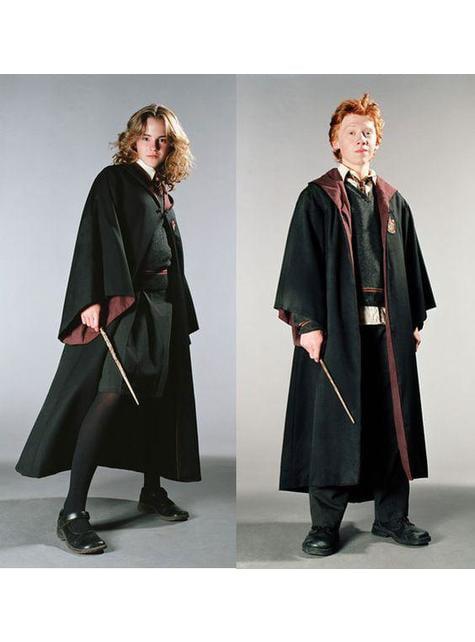 Túnica de Harry Potter Gryffindor Deluxe para niño (Réplica oficial Collectors)