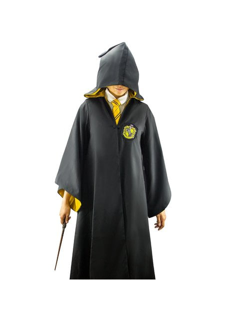 Hufflepuff Deluxe Robe for Adults (Official Collector's Replica) - Harry Potter