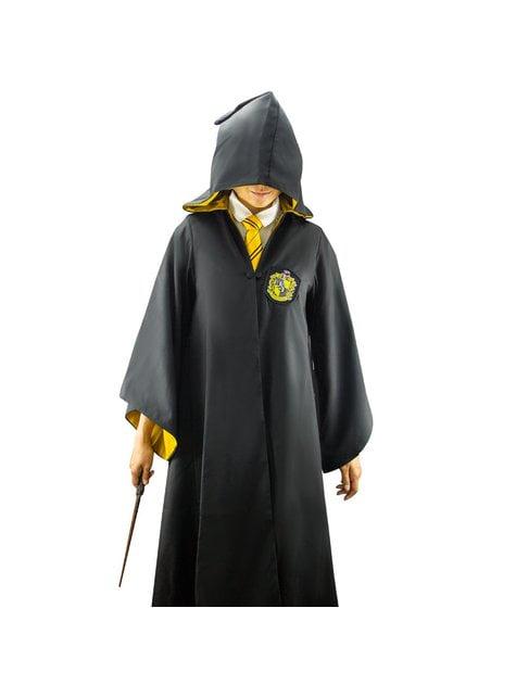 Túnica de Hufflepuff Deluxe para adulto (Réplica oficial Collectors) - Harry Potter