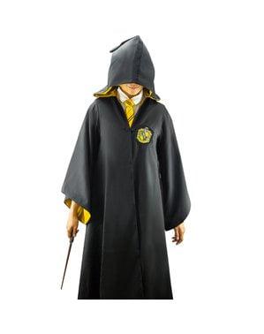 Hufflepuff Deluxe skikkja fyrir fullorðna - Harry Potter