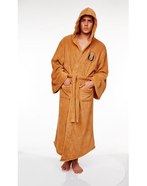 Jedi Fleece Bathrobe for Adults - Star Wars