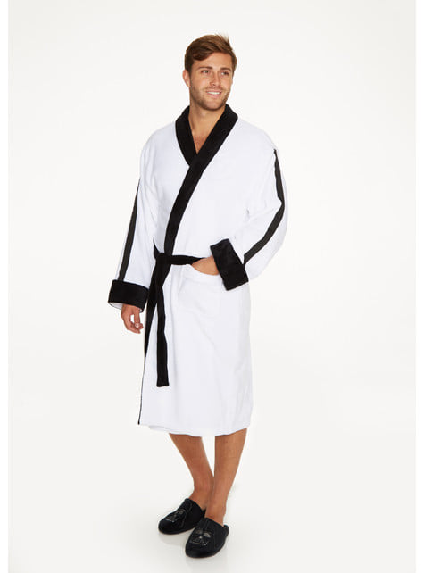 Stormtrooper Fleece Bathrobe for Adults - Star Wars