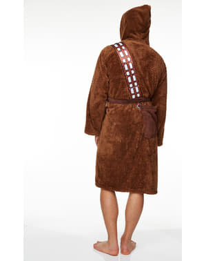 Chewbacca Fleece Bathrobe for Adults - Star Wars