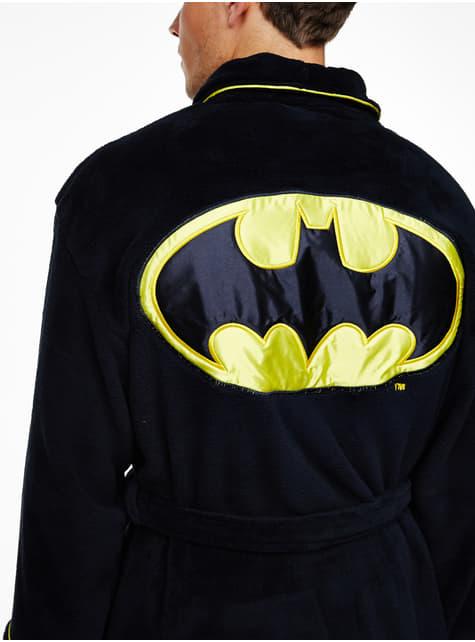 Batman bathrobe for men