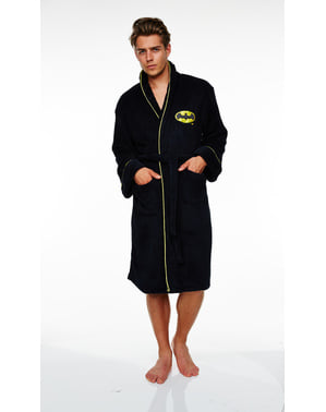 Batman Fleece Bathrobe for Men