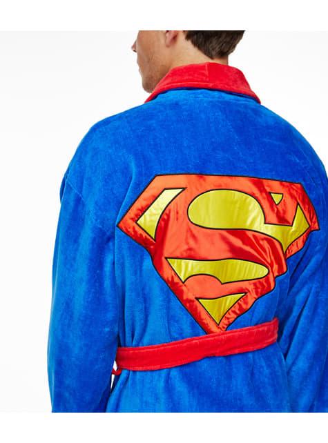 Superman badjas voor volwassenen