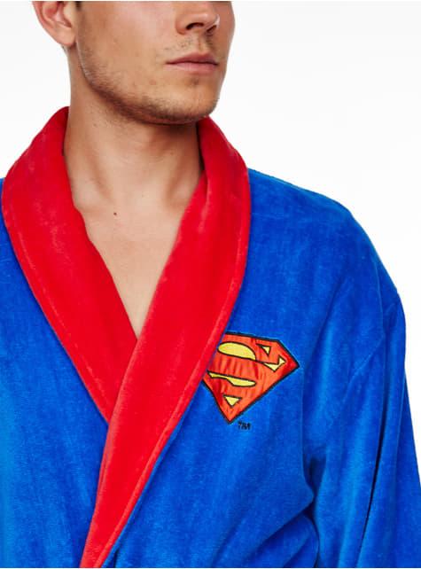 Superman Bademantel für Erwachsene