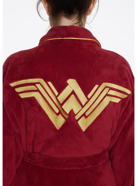 Albornoz de Wonder Woman para mujer