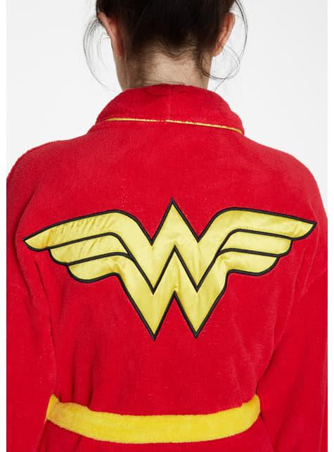 Albornoz de Wonder Woman retro para mujer