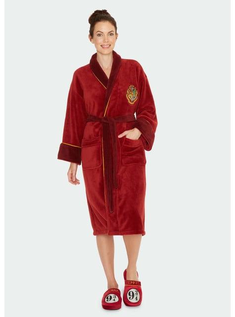 Roupão de Harry Potter Plataforma 9 e 3/4 para mulher