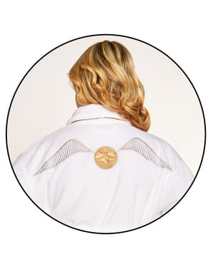 White Snitch bathrobe for women - Harry Potter