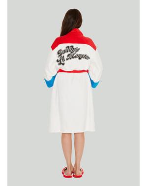 महिलाओं के लिए हार्ले क्विन डैडी के लिल मॉन्स्टर स्नान वस्त्र - आत्महत्या दस्ते