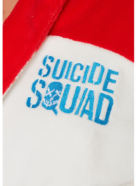 Harley Quinn Daddy's Lil Monster bathrobe for women - Suicide Squad