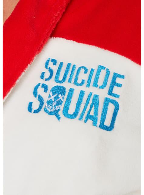 Szlafrok Harley Quinn Daddy's Lil Monster damski - Legion Samobójców