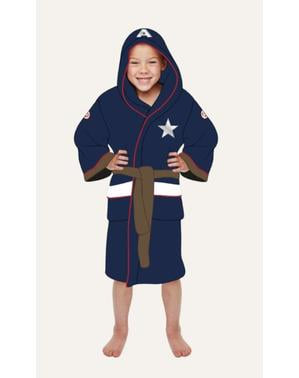 Captain America bathrobe for boys