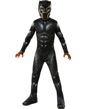 Black Panther costume for boys