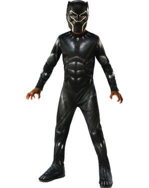 男の子のためのブラックパンサー衣装