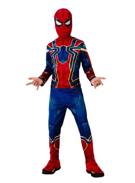 Fato de Iron Spider para menino – Vingadores Infinity War