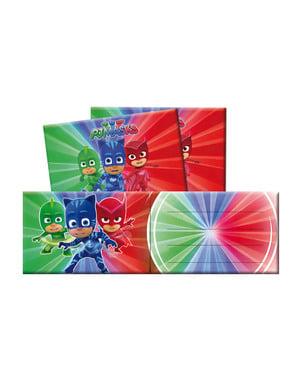 Set 6 inbjudningskort PJ Masks